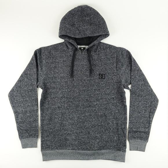 78ea530abc DC Men's Rebel Simplistic Pullover Hoodie A5117 NWT